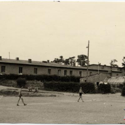 ©ICRC/1944.07.10/War 1939-1945. Altburgund. Oflag 64, war prisoners camp. Global view/ICRC Photo Library V-P-HIST-E-00444